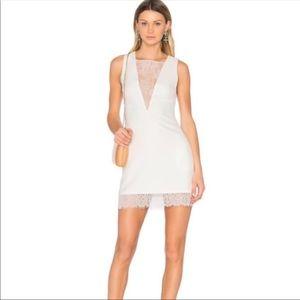 NBD White Warrant Sheath Dress
